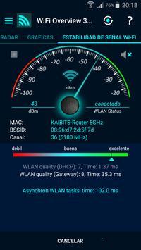 WiFi Overview 360 captura de pantalla 6