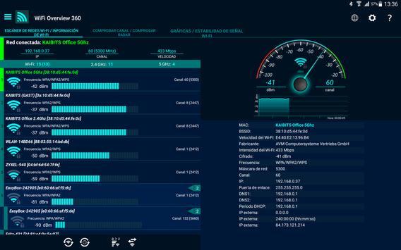 WiFi Overview 360 captura de pantalla 11