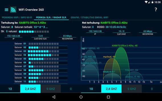 WiFi Overview 360 screenshot 10