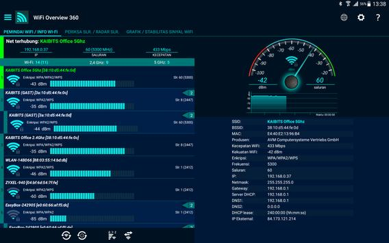 WiFi Overview 360 syot layar 8