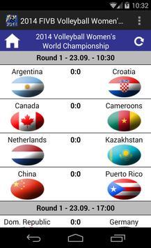 2014 Volleyball Women's WorldC screenshot 1