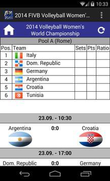 2014 Volleyball Women's WorldC screenshot 2