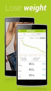 Weight Tracker aktiWeight poster