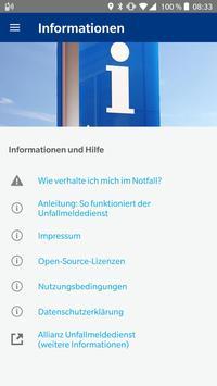 Allianz Unfallmeldedienst screenshot 3