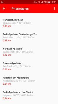 Apothekenfinder screenshot 1