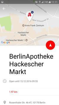 Apothekenfinder screenshot 2