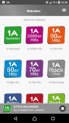 1a Farben.1a Webradio For Android Apk Download