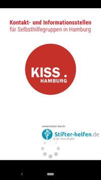 KISS Hamburg Selbsthilfe poster