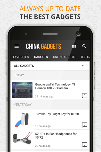 China Gadgets – The Gadget App APK 3 6 1 Download for