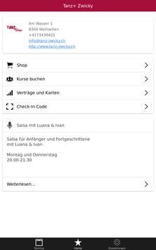 Tanz+ Zwicky screenshot 11
