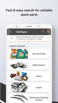 3 Schermata Autodoc — Ricambi auto online di alta qualità