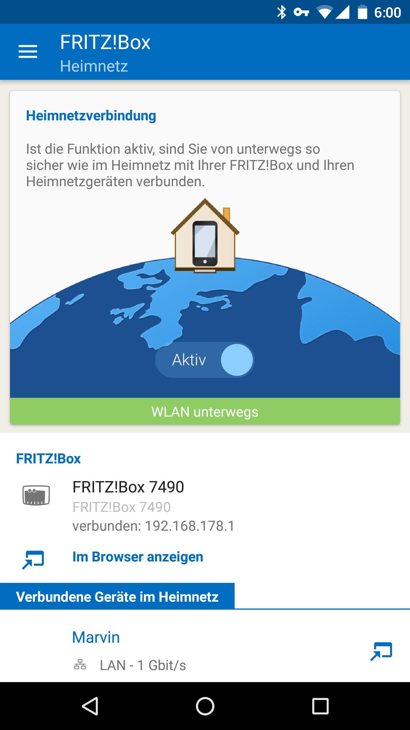 My Fritz App