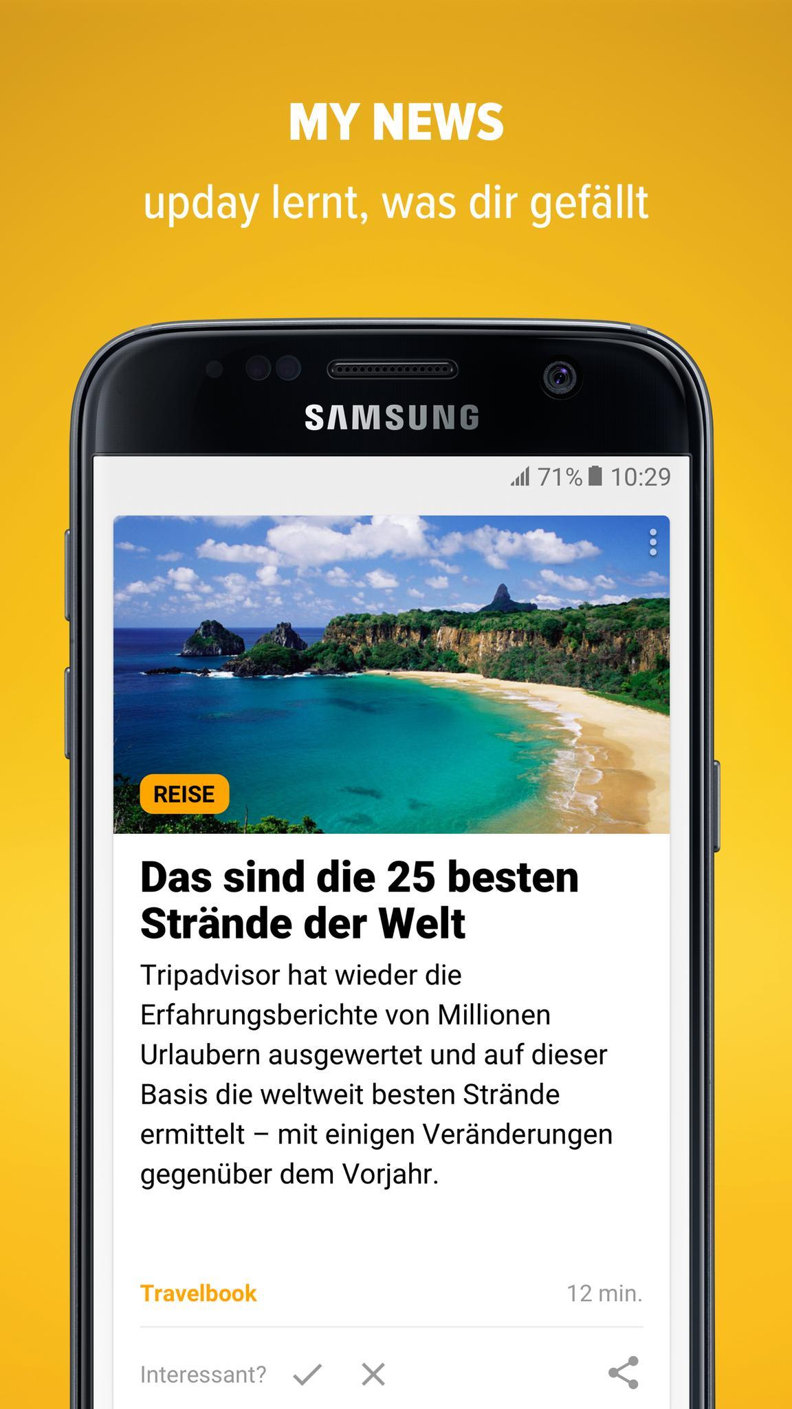 upday für Android   APK herunterladen