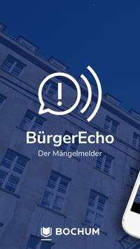 BürgerEcho Plakat