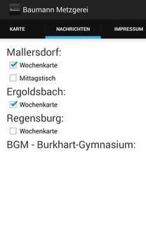 Metzgerei Baumann screenshot 2