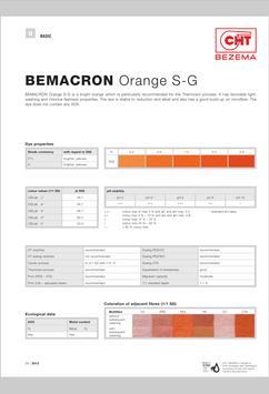 Bezema Colour Solutions. Dyestuff Range screenshot 7