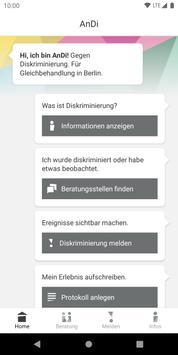 AnDi-Antidiskriminierungsapp screenshot 1