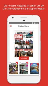 Berliner Kurier E-Paper poster