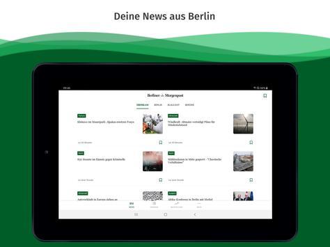 Berliner Morgenpost News screenshot 4