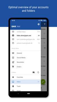 GMX - Mail & Cloud screenshot 1