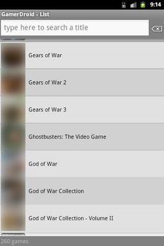 GamerDroid screenshot 4