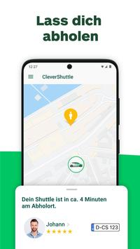 CleverShuttle screenshot 3