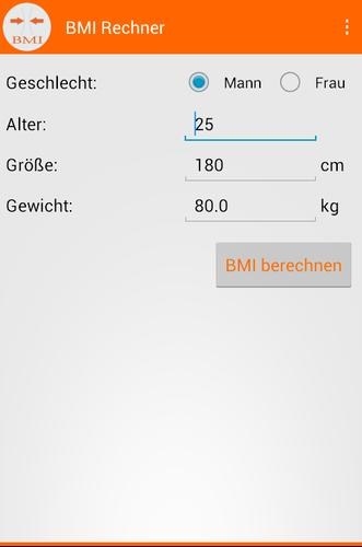 Bmi frau BMI 31