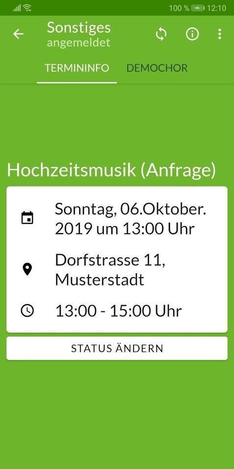 Chorsystem Singste App For Android Apk Download