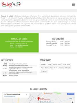 Pizzeria Da Luigi 2 (Nidderau) screenshot 3