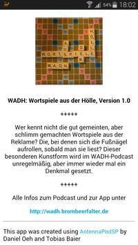 WADH: Wortspiele aus der Hölle screenshot 2