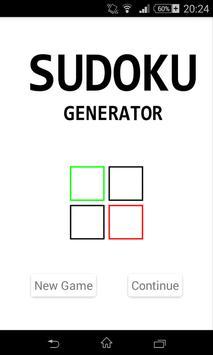 Sudoku Generator poster