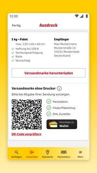 DHL Paket Screenshot 4