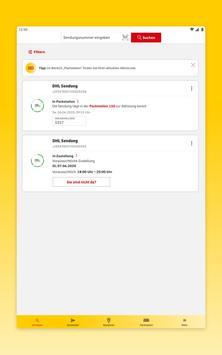 DHL Paket Screenshot 9