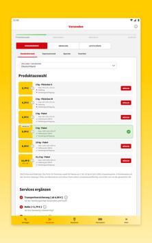 DHL Paket Screenshot 11
