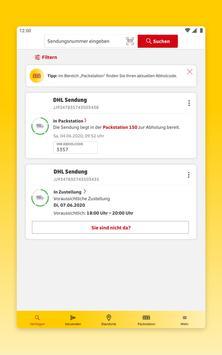 DHL Paket Screenshot 17