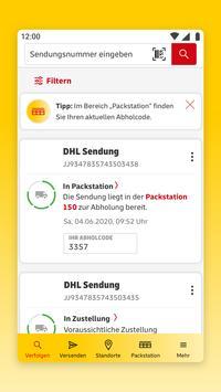 Post & DHL Screenshot 1
