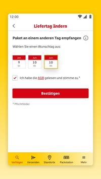 DHL Paket Screenshot 2