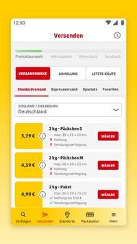 DHL Paket Screenshot 3