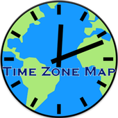 Time Zone Map icon