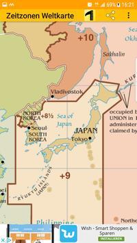 Time Zone Map screenshot 3