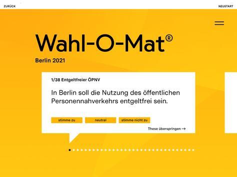 Wahl-O-Mat Screenshot 9