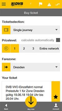 DVB mobil screenshot 1