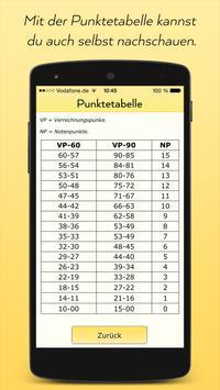 Abitur Notenpunkte Rechner screenshot 3