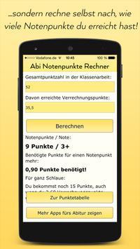 Abitur Notenpunkte Rechner screenshot 1
