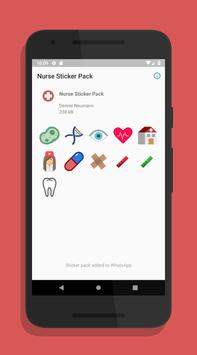 Nurse Sticker Pack for WhatsApp screenshot 1