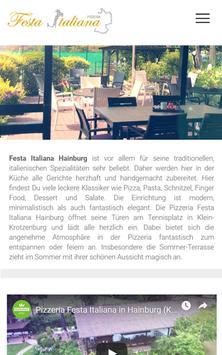 Pizzeria Festa Italiana (Hainburg) poster
