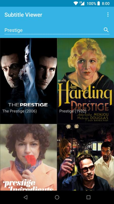 the prestige movie download with english subtitles