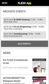 Flexx Fitness screenshot 1