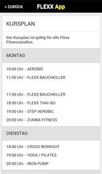 Flexx Fitness screenshot 2