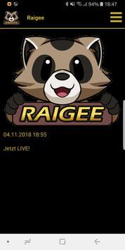 RaigeeApp screenshot 1